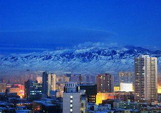 高清组图:乌鲁木齐今冬空气质量创17年最优