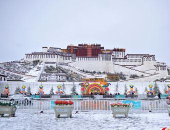 拉薩降大雪,創近20年來新高值