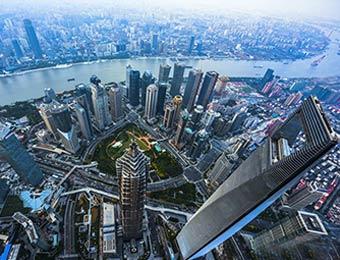图说中国:632米高空看上海