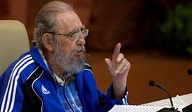 古巴革命领袖菲德尔・卡斯特罗去世
