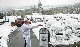 奥斯陆降雪