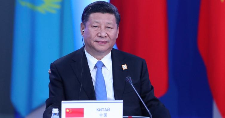 习近平出席上合组织成员国元首理事会会议并发表重要讲话