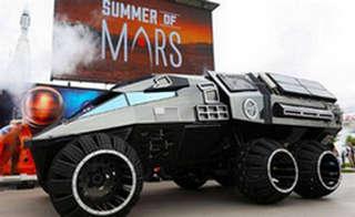 NASA发布新款火星探测概念车