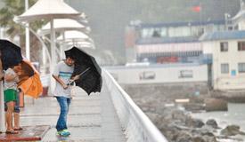 """台风""""苗柏""""来袭 广东沿海启动Ⅲ级应急响应"""