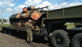中国陆军4支参赛队赴俄