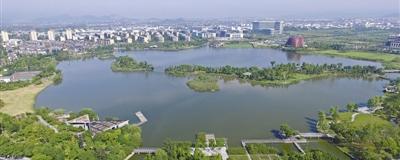 """让丰雨城市别再喊渴每年可控制八成雨水,宁波努力变身""""吸水海绵"""",为城市带来综合生态环境效益。[阅读]"""