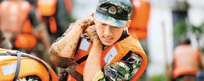 洪水无情  武警有爱危急关头,驻各地武警部队闻风而动,扛沙袋、固大堤,筑起一道道安全防线。[阅读]