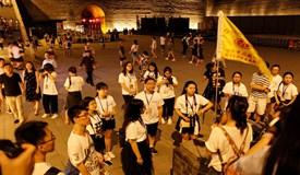 大学生记者团抵达西安倾听古都时代脉搏