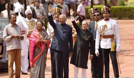印度总统科温德宣誓就职
