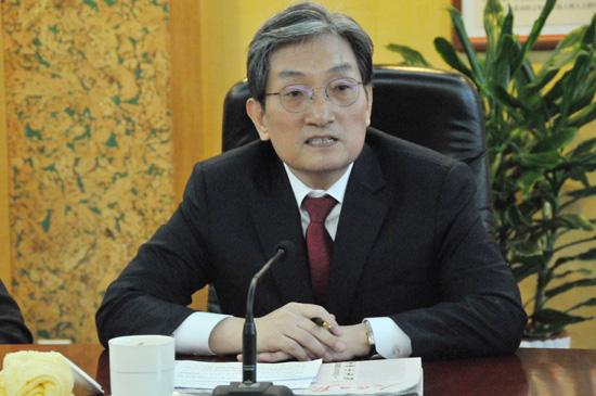 韩国新任驻华大使卢英敏。(摄影:李国良)