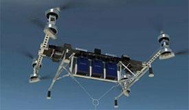 自动驾驶巨型无人机可载两头小象