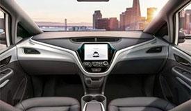 新型无人汽车:没司机没方向盘没油门刹车