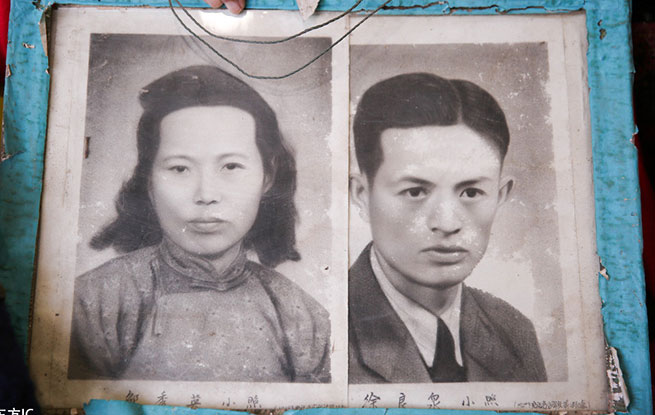百岁抗战老兵的爱情 夫妻相濡以沫82年