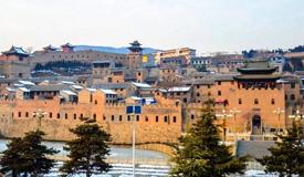 北方第一明代古城堡——山西湘峪古堡