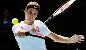 澳网费德勒胜弗索维奇晋级 下轮迎战伯蒂奇