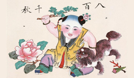 """民俗中的犬:剪纸年画泥塑中的""""汪星人"""""""