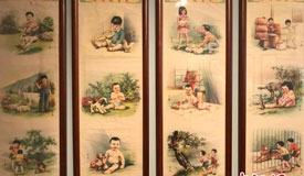 中国年画、老上海物件勾起儿时回忆