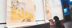 """《十骏犬》助兴戊戌新春台北故宫南院推出""""戊戌狗年・喜迎上元""""年度特展,多幅骏犬图首度联袂登场。[阅读]"""