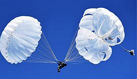 空降兵唯一机械化作战力量昼夜集群伞降