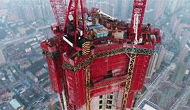 """造楼神器刷新""""中国速度"""":4天盖一层楼"""