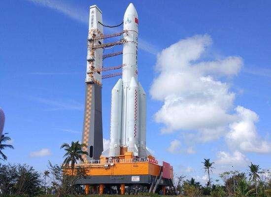 长征五号遥三火箭年底择机发射