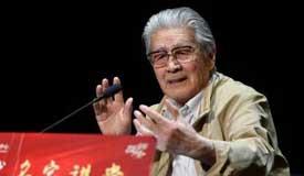 91岁蓝天野:演员要有深厚的生活积累