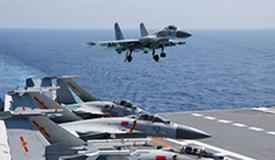海军航母编队持续提升体系作战能力