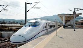 中缅国际通道昆广大铁路开始联调联试