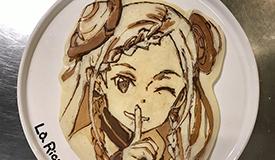 日本厨师推出卡通煎饼鼓励福岛灾民