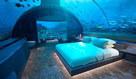 让鱼儿伴你入睡!首座水下别墅将建成