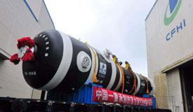 百万千瓦级核电蒸汽发生器在中国一重制成