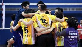 男排联赛上海实现四连冠