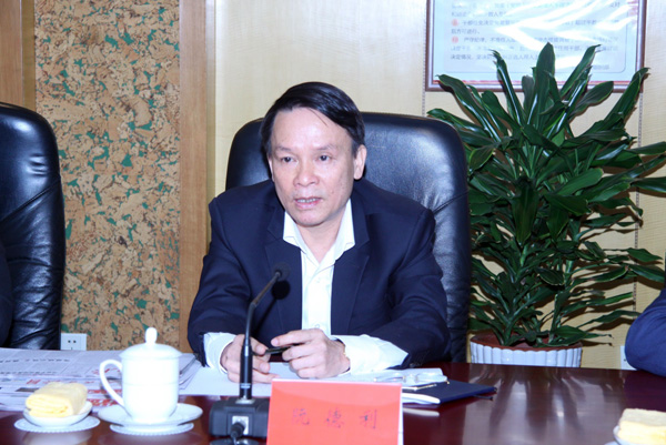 越南通讯社社长阮德利。(摄影:李国良)