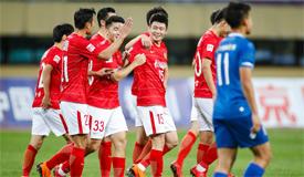 足协杯:恒大1-0胜宁夏 张文钊建功