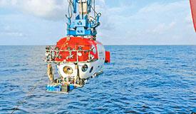 首次深海考古调查发现文物标本
