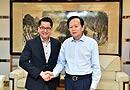 5月15日下午,人民日报社社长李宝善会见新加坡驻华大使罗家良一行。[阅读]