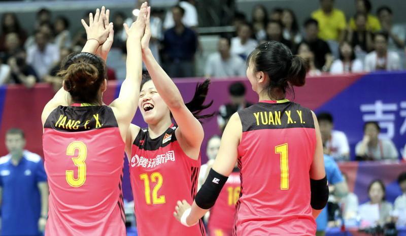 世界女排联赛宁波站 中国3-0横扫比利时