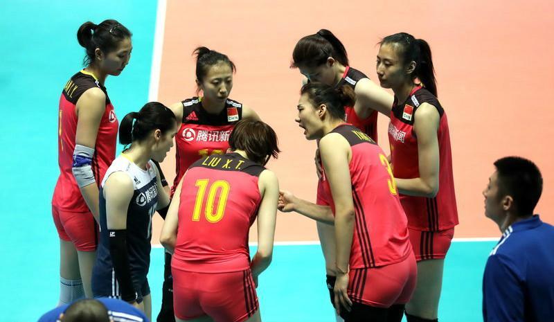 世界女排联赛宁波站 中国0-3负韩国