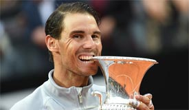 纳达尔夺ATP罗马赛冠军 重回世界第一