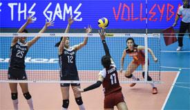 2018世界女排联赛澳门站 中国2-3惜败波兰