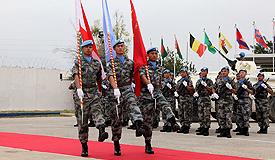 中国赴黎巴嫩维和部队完成第16次轮换交接
