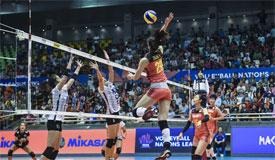 2018世界女排联赛澳门站 中国女排3-1泰国