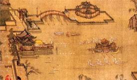 从名画中看历代龙舟竞渡和各地端午习俗