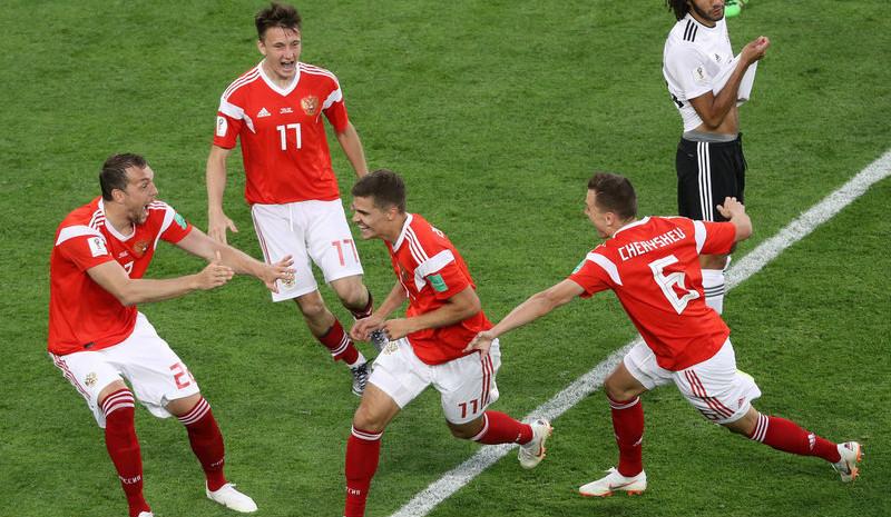 切里舍夫久巴建功 俄罗斯3-1胜埃及
