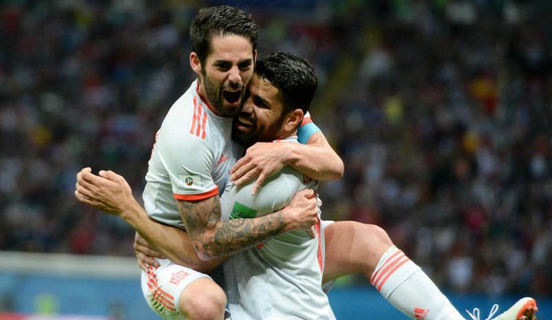 科斯塔建功 西班牙1-0胜伊朗