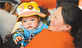西藏贫困先心病患儿筛查正式启动