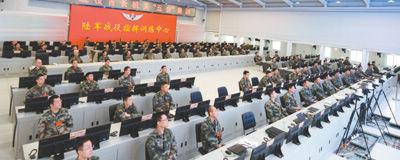 """着力打造中军帐""""最强大脑""""三级首长机关同步参训,5位战区陆军司令员授课答疑,13位指挥员接受考核。[阅读]"""