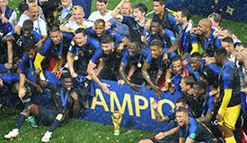 姆巴佩、博格巴建功 法国4-2克罗地亚夺冠