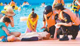 江苏泰州:暑假安全课堂走近儿童身旁