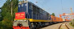 """中欧班列(郑州)开行五周年这条""""钢铁丝路""""辐射全球,成为中原地区进出口贸易经济的""""晴雨表""""。[阅读]"""
